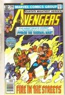 Avengers #206 comic book near mint 9.4