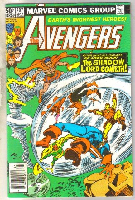 Avengers #207 comic book near mint 9.4