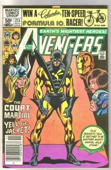 Avengers #213 comic book very fine 9.0