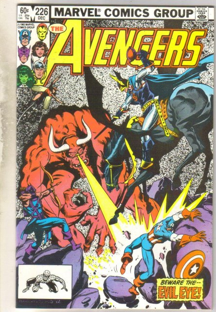 Avengers #226 comic book near mint 9.4