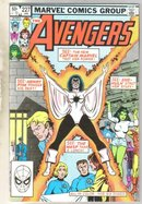 Avengers #227 comic book near mint 9.4