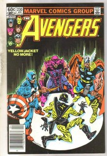 Avengers #230 comic book near mint 9.4
