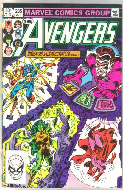 Avengers #235 comic book fine 6.0