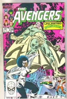 Avengers #238 comic book fine 6.0