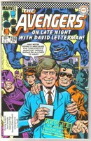 Avengers #239 comic book near mint 9.4