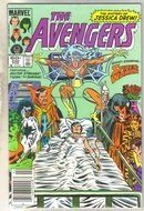 Avengers #240 comic book near mint 9.4