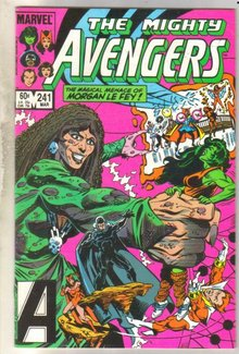 Avengers #241 comic book near mint 9.4