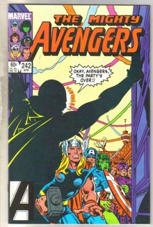 Avengers #242 comic book near mint 9.4