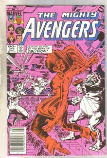 Avengers #245 comic book near mint 9.4