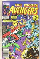 Avengers #246 comic book near mint 9.4