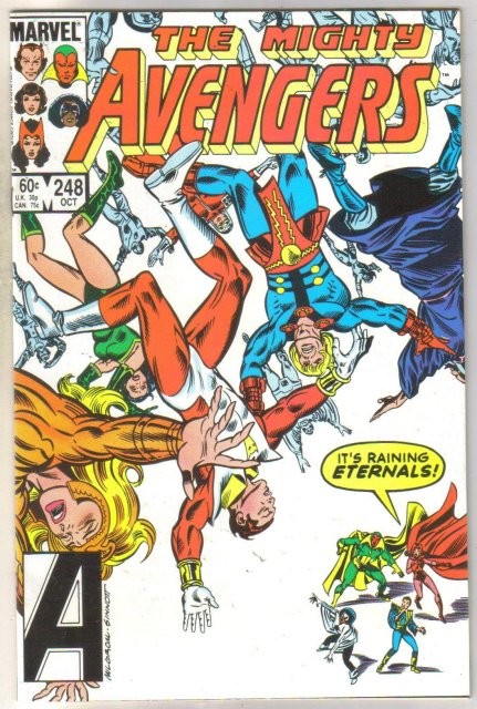 Avengers #248 comic book mint 9.8