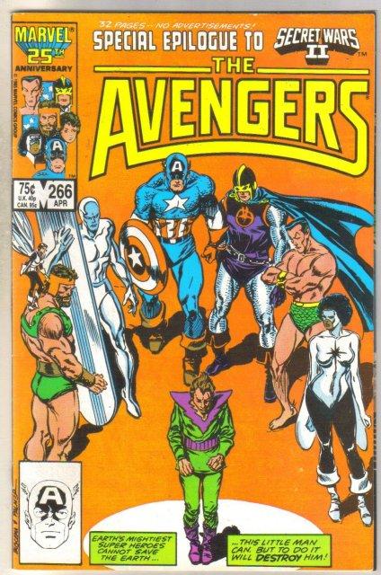 Avengers #266 comic book near mint 9.4
