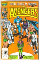 Avengers #266 comic book near mint 9.4