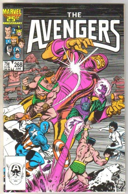 Avengers #268 comic book mint 9.8