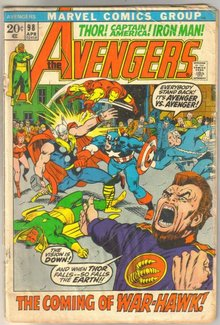 Avengers #98 comic book fair 1.5