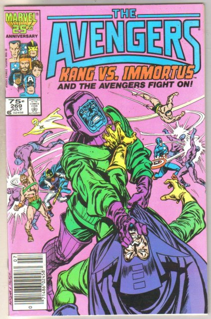 Avengers #269 comic book near mint 9.4