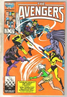 Avengers #271 comic book near fine 6.0