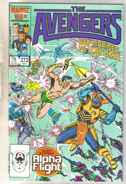 Avengers #272 comic book mint 9.8