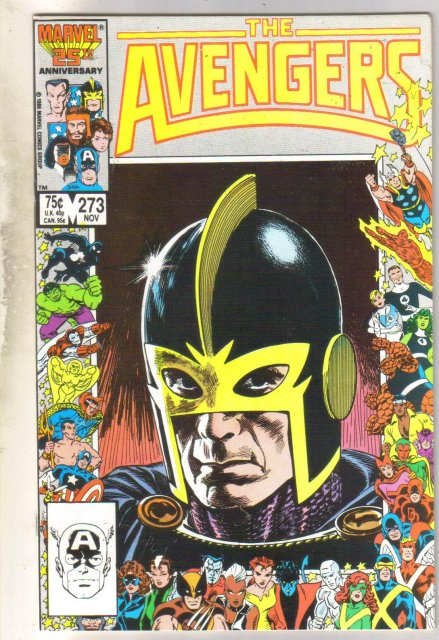 Avengers #273 comic book mint 9.8
