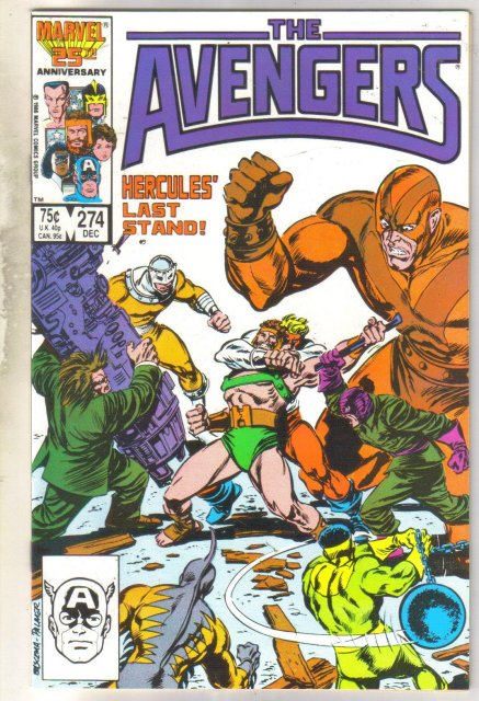 Avengers #274 comic book mint 9.8
