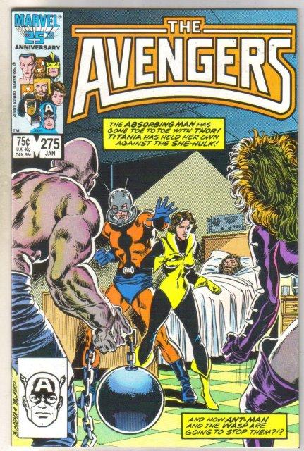 Avengers #275 comic book mint 9.8