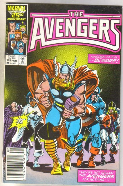 Avengers #276 comic book very fine 8.0