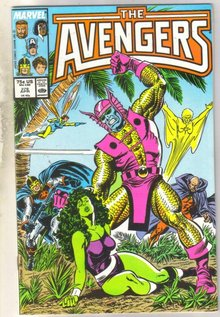 Avengers #278 comic book near mint 9.4
