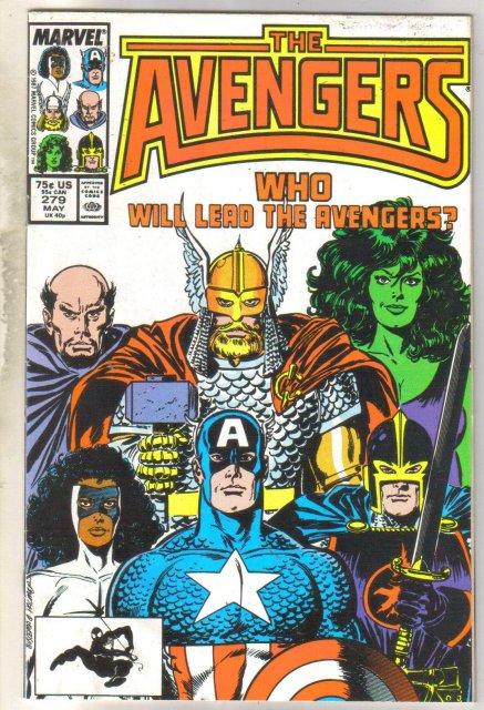 Avengers #279 comic book very fine 8.0