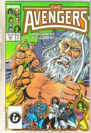 Avengers #282 comic book near mint 9.4