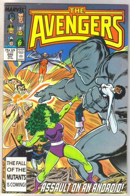 Avengers #286 comic book mint 9.8