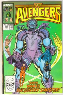 Avengers #288 comic book near mint 9.4