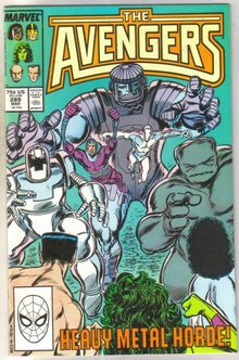 Avengers #289 comic book mint 9.8