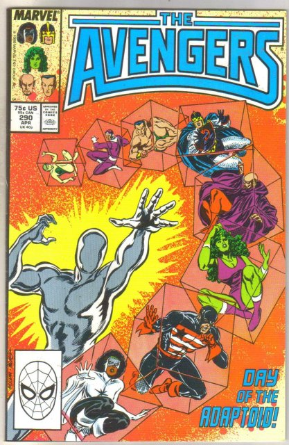 Avengers #290 comic book mint 9.8