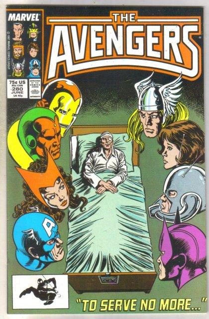 Avengers #280 comic book near mint 9.4