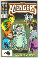 Avengers #280 comic book near mint 9.4