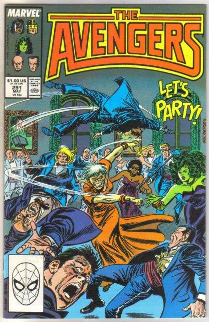 Avengers #291 comic book near mint 9.4