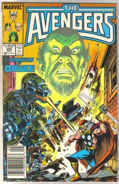 Avengers #295 comic book near mint 9.4