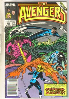 Avengers #299 comic book near mint 9.4