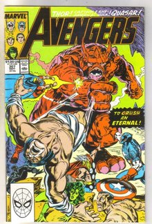 Avengers #307 comic book near mint 9.4