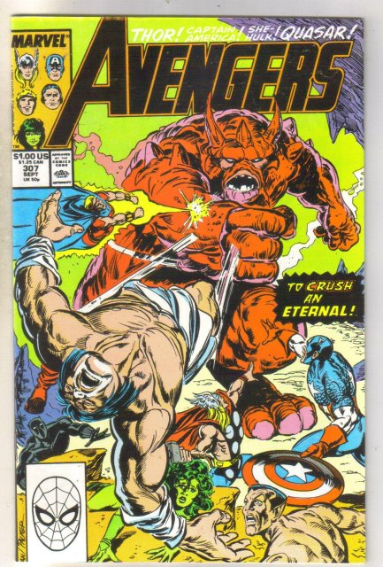 Avengers #307 comic book near mint 9.4