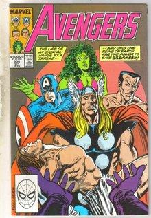 Avengers #308 comic book near mint 9.4
