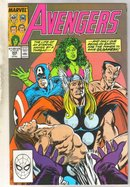 Avengers #308 comic book near mint 9.4