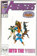 Avengers #314 comic book near mint 9.4