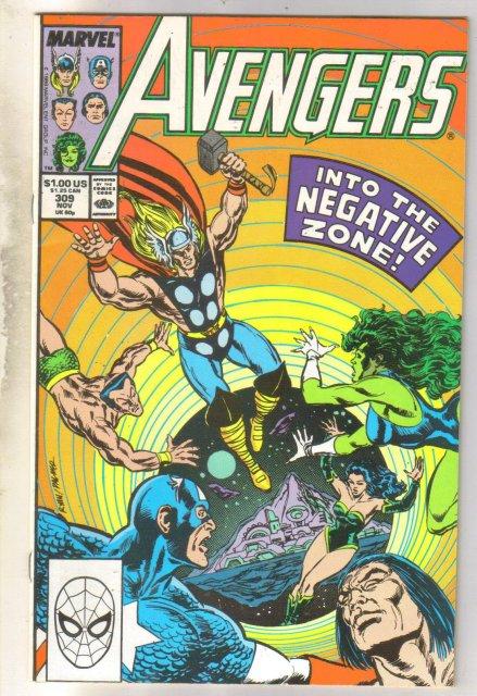 Avengers #309 comic book near mint 9.4