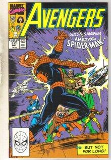 Avengers #317 comic book near mint 9.4