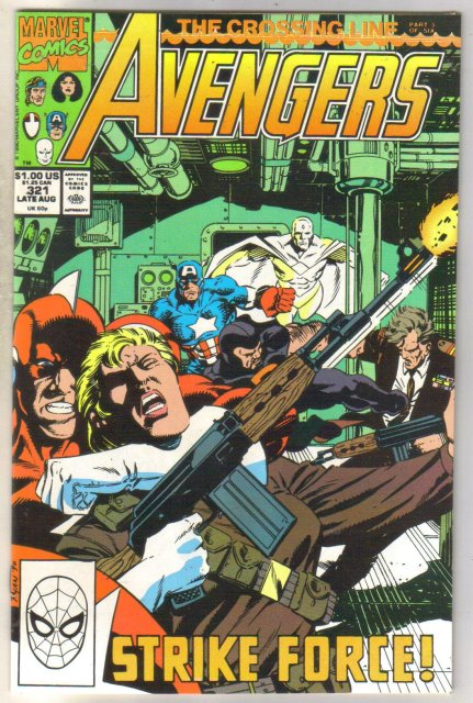 Avengers #321 comic book mint 9.8