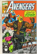 Avengers #331 comic book near mint 9.4