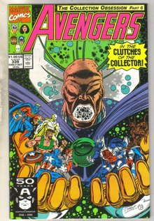 Avengers #339 comic book mint 9.8
