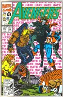 Avengers #342 comic book mint 9.8