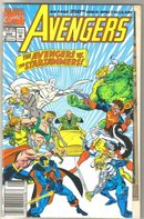 Avengers #350 double sized comic book mint 9.8